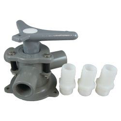 Model BM-94-AB Base Mount Sea-Lect Y-Valves - with Tapped Ports & Hose Adapters image