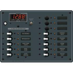 DC 13 Position Circuit Breaker Panel w/ Meter image