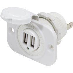 Blue Sea Systems Dual USB Charger Socket image
