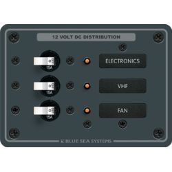 DC 3 Position Circuit Breaker Panel image