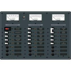 AC Main + 6 Position /DC Main + 15 Positions Circuit Breaker Panel image