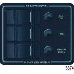DC Water Resistant Black Circuit Breaker Panels image