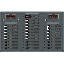 AC Main + 6 Positions/DC Main + 18 Positions Circuit Breaker Panel image