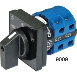 No. 9009 120V AC 2-Source Selector Rotary Switch & Panels - 30A image
