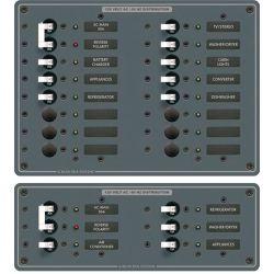 AC Main + Additional Positions Horizontal Circuit Breaker Panel image