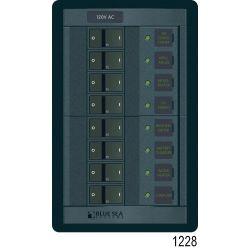 360 Panel System 120 Volt AC Accesory Panel - 4 Rocker Positions image