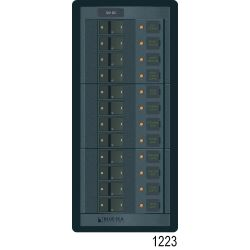 360 Panel System DC Breakers No Meters - 12 Positions image