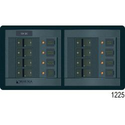 360 Panel System DC Breakers No Meters - 8 Positions image