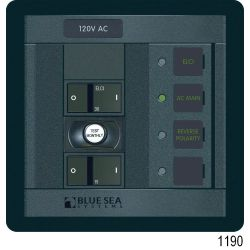 ELCI Main 30A Double Pole + 1 Breaker with Voltmeter image