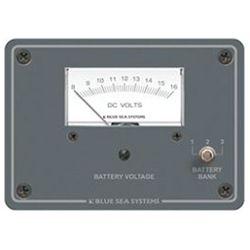 DC Analog Voltmeter Panel image