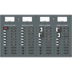 3 AC Sources + 12 AC Positions/DC Main + 19 DC Positions Circuit Breaker Panel image