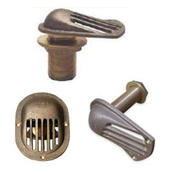 Thru-Hull Intake Strainers - with Pipe image
