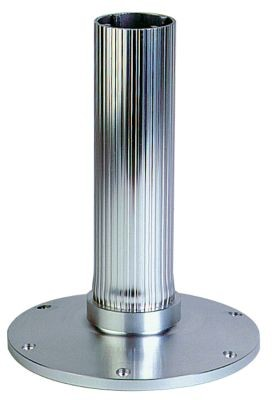 Fluted Series Adjustable Height Pedestal Stanchions image