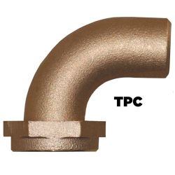 90 Degree Tail Piece TPC Series - Bronze image