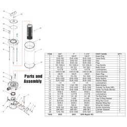 Parts for SVS Seacock image