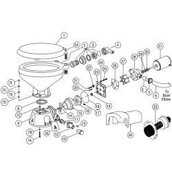 Jabsco 93003-0240 Adapter