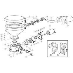 Quiet-Flush Toliet Replacement Parts image