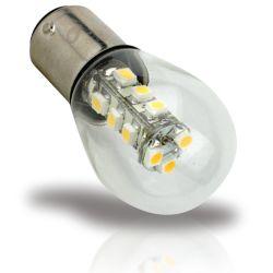 15 LED DC Bayonet BA15d Bulb - Warm or Cool White image