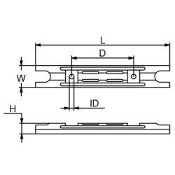 Yamaha Transom Handle Anode - Zinc image