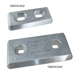 Streamlined Bolt-On Hull Plate Anodes - Zinc image
