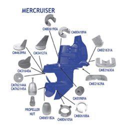 Mercruiser Anodes - Aluminum image