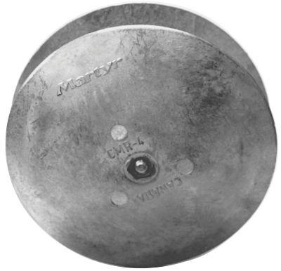 Rudder & Trim Tab Anodes - Magnesium image