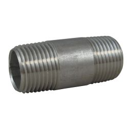 304 Stainless Steel Pipe Nipples image