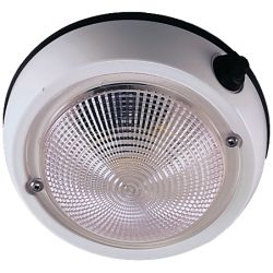 6 in. Exterior Dome Light - 5 in. Lens, Fig. 1253 image
