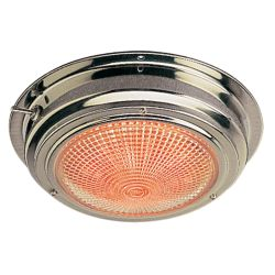6-3/4 in. LED SS Day/Night Dome Light - 5 in. Lens image