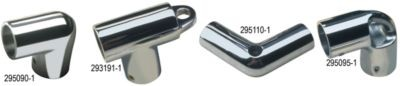 Rail Elbows - Stainless 90 Degree Elbow and Anchor image