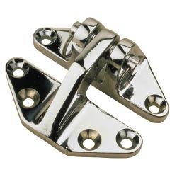 Hatch Hinge - Chrome Plated Brass image