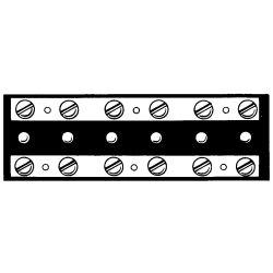 Junction Blocks: 2,4 & 6 Gang Terminals image