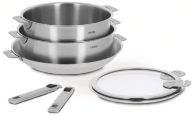 7-Pc Stainless Steel Cookware Set  image