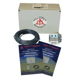 DC Fan Control System - Temperature Monitoring with Automatic or Manual Modes image