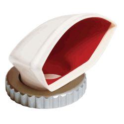 Oval PVC Cowl Ventilators - Red Interior image