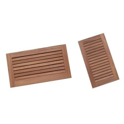Louvered Teak Vents image
