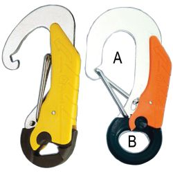 Double Action Tether Safety Hooks image
