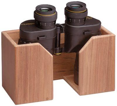 Teak Binocular Rack image