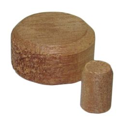 Wood Deck Plugs - Mahogany image