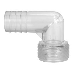 Clear View Hose Adapters - 90 Degree Elbows image