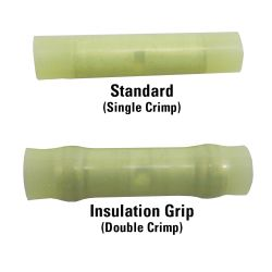 Double Crimp Butt Splices - With Insulation Grip image