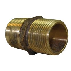 Bronze Hex Pipe Nipple image