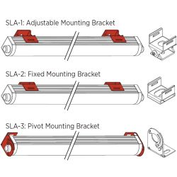 S-Line Mounting Brackets for S1200 LED Linear LED Light Strip image