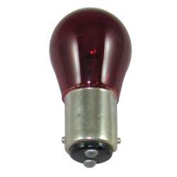 Double Contact Bayonet Base Bulb - Red image