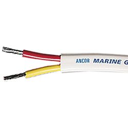 Safety Tinned Duplex Boat Cable - Flat image