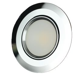 3-1/2 in. Recessed COB LED Light - with Swivel Lens image