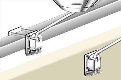 Square/Flat, Rail or Bulkhead BBQ Mount image