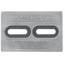 Mini-Divers Dream Slotted Plate Anodes - Zinc image