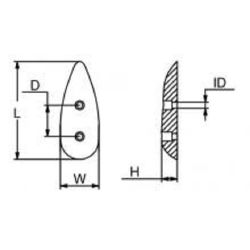 Small Teardrop Anode image