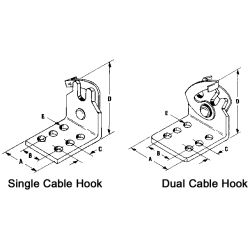 Single Cable Hooks image
